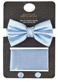 Burton Mens Sateen Blue Gift Set