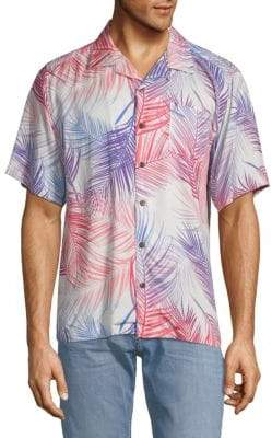 Standard Issue NYC Camp Printed Short-Sleeve Shirt