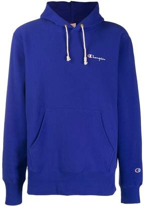 Champion logo embroidered hoodie