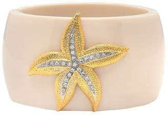 Kenneth Jay Lane Ivory Starfish Cuff
