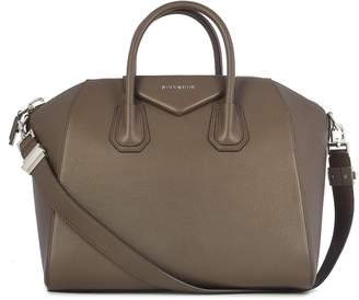 Givenchy Antigona M Ote Bag With Two Round Top , A Top Zip Closure And A Single Internal Zipped Pocket.