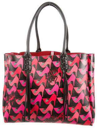 Lanvin 2016 Shoe Print Shopper Tote $1,295 thestylecure.com