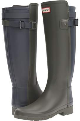 Hunter Refined Back Strap Rain Boots Women's Rain Boots