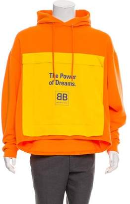 Balenciaga 2017 The Power of Dreams Hoodie