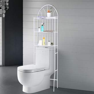 Louis Vuitton life Metal Storage Rack Over Toilet Bathroom Space Saving 3-Tier Shelf Unit Organizer, Bathroom Storage Rack, Toilet Shelf Unit