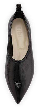 Tibi John Crinkled Patent Loafer
