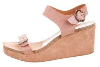 Pedro Garcia Leather Platform Sandals