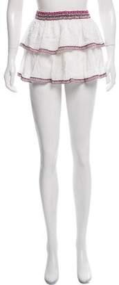 Thayer Tiered Mini Skirt