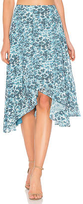 House of Harlow 1960 x REVOLVE Cici Skirt in Teal $168 thestylecure.com