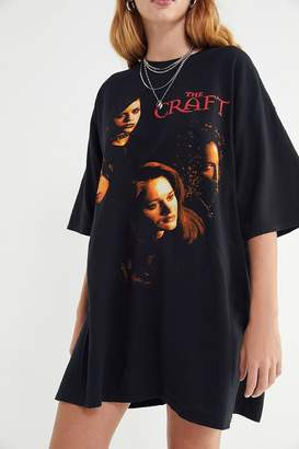Urban Outfitters The Craft Oversized T-Shirt Dress