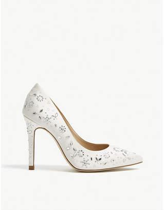 ebe7f99af48 LK Bennett Jenny Packham embellished Fern heeled courts