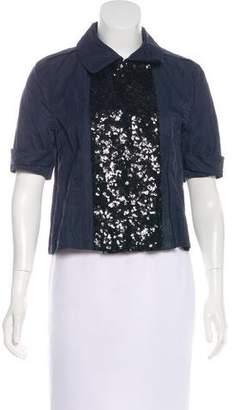Gryphon Short Sleeve Sequin Jacket
