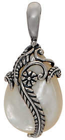 American West Sterling Mother-of-Pearl LeafEnhancer