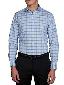 Geoffrey Beene Caicos Check Slim Fit Shirt