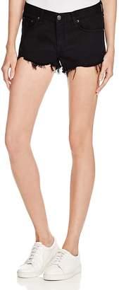 Rag & Bone Cutoff Denim Shorts in Black