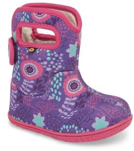 Bogs Baby Flower Dot Insulated Waterproof Boot