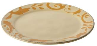 Rachael Ray Dinnerware Gold Scroll 12-1 and 2 Round Platter