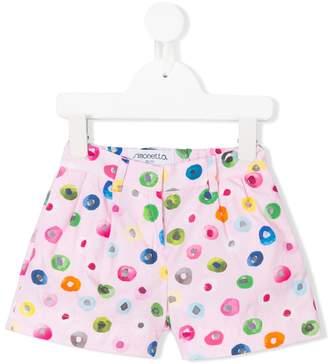 Simonetta multicolour dotted shorts