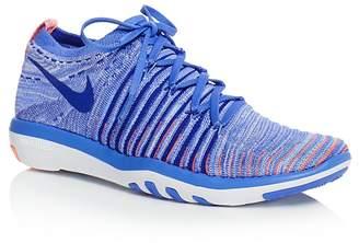 Nike Women's Free Transform Flyknit Lace Up Sneakers