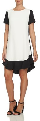 Women's Cece Colorblock Shift Dress $139 thestylecure.com