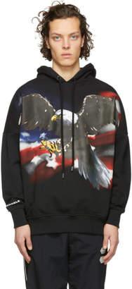 Palm Angels Black Eagle Over Hoodie