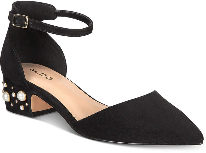 Aldo Women's Wiliwiel Block-Heel Pumps Women's Shoes