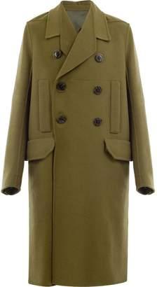 Rick Owens midi buttoned coat