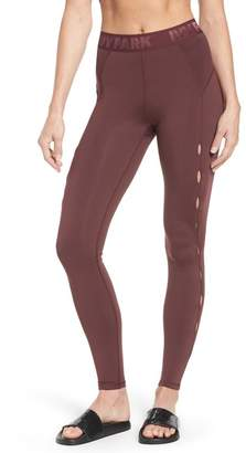 Ivy Park High Waist Keyhole Detail Ankle Leggings