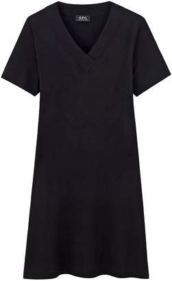 A.P.C. Jenn Dress in Noir