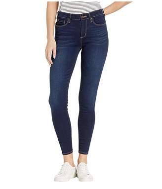 Vintage America Seamless Skinny Jeans in Dark Blue