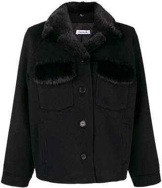 P.A.R.O.S.H. buttoned short coat