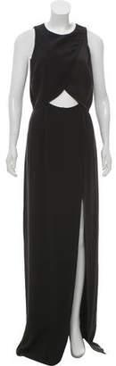 Rachel Zoe Cutout Maxi Dress