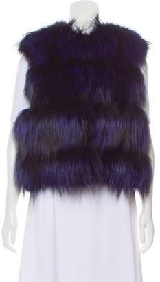 Christian Cota Fox Fur Vest