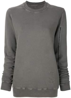 Rick Owens crew neck logo sweater