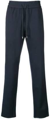 Billionaire drawstring-waist track pants