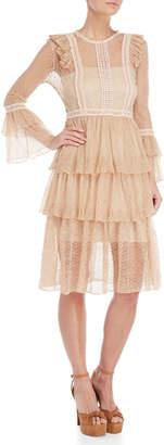 Allison Lace Tiered Dress