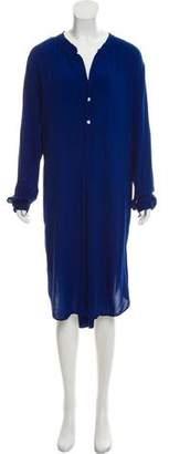 Raquel Allegra Long Sleeve Midi Dress w/ Tags