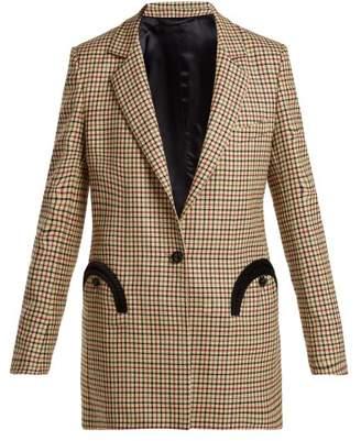 Blazé Milano - George Timeless Tweed Blazer - Womens - Beige Multi