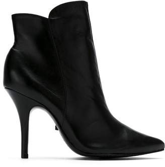 Schutz pointed toe booties