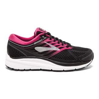 Brooks Women's Addiction 13 D Width Running Shoe (BRK-120253 1D 4086570 8 BLK/PNK/Gry)