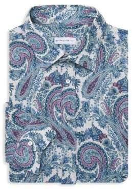 Etro Floral Print Dress Shirt