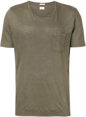 Massimo Alba patch pocket T-shirt