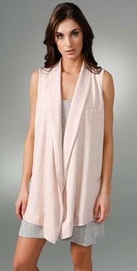 Vanessa Bruno Ruffle Collar Vest