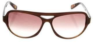 Paul Smith Aviator Gradient Sunglasses