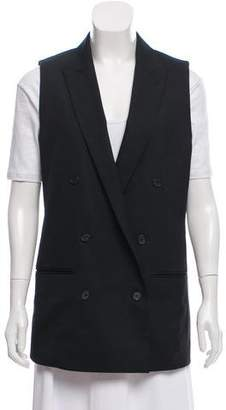 AllSaints Sleeveless Double-Breasted Vest