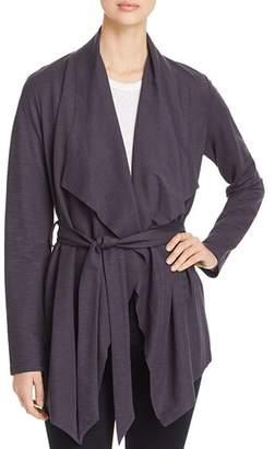Bagatelle Draped Tie-Front Cardigan