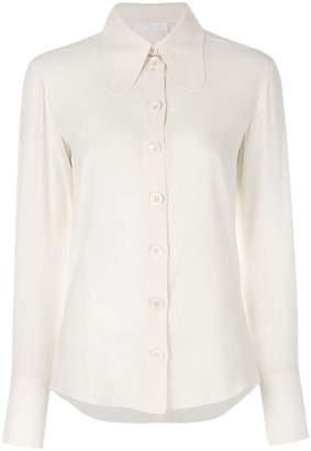 Chloé elongated collar blouse