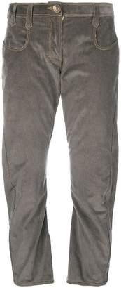 Atelier Bâba Amado twisted corduroy trousers