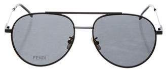 Fendi Oversize Aviator Sunglasses w/ Tags