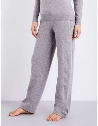 Sunspel Relaxed-fit straight lamsbwool lounge trousers $215 thestylecure.com